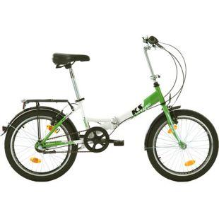KS Cycling Faltrad 3 Gänge Klapprad FX300 20 Zoll