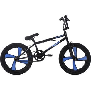 KS Cycling Freestyle BMX 20 Zoll Daemon schwarz-blau