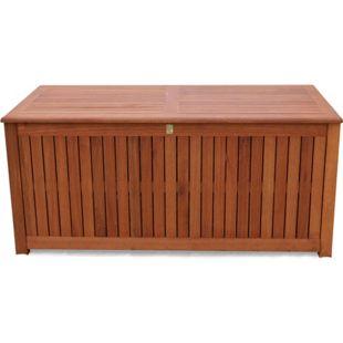 Grasekamp Kissenbox 130cm Auflagenbox Gartenbox  Truhe Eukalyptus
