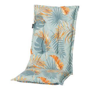 Grasekamp Auflage Palmen Blätter Blau zu  Gartensessel Kissen Gartenstuhl  Klappstuhl