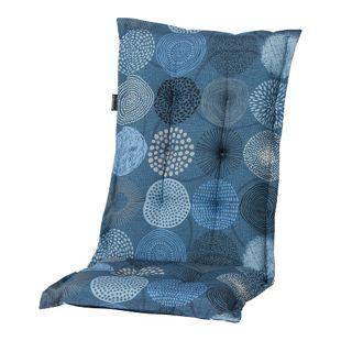 Grasekamp Auflage Kissen Bunt Blau zu Gartensessel  Klappstuhl