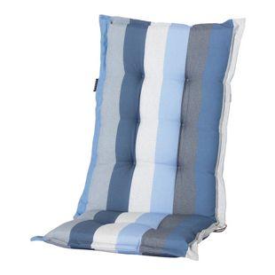 Grasekamp Auflage Kissen Blau gestreift zu  Gartensessel Klappstuhl