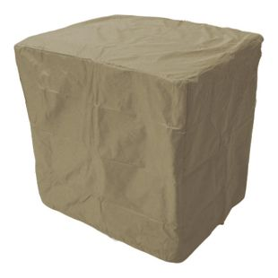 Grasekamp Stuhlhülle 85x70cm für 4-6 Klappstühle  Klappstuhlhülle Abdeckhaube Schutzhülle  Beige