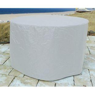 Grasekamp Abdeckung Gartenmöbel 180cm rund  Abdeckplane für Sitzgarnitur Gartentisch  Sitzgruppe
