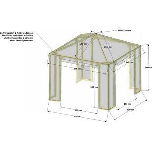 Grasekamp Schutzhaube zu Pavillon Lindgren -  Medium