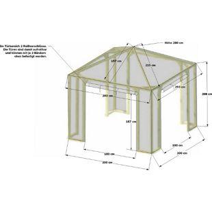 Grasekamp Schutzhaube zu Pavillon Lindgren -  Premium