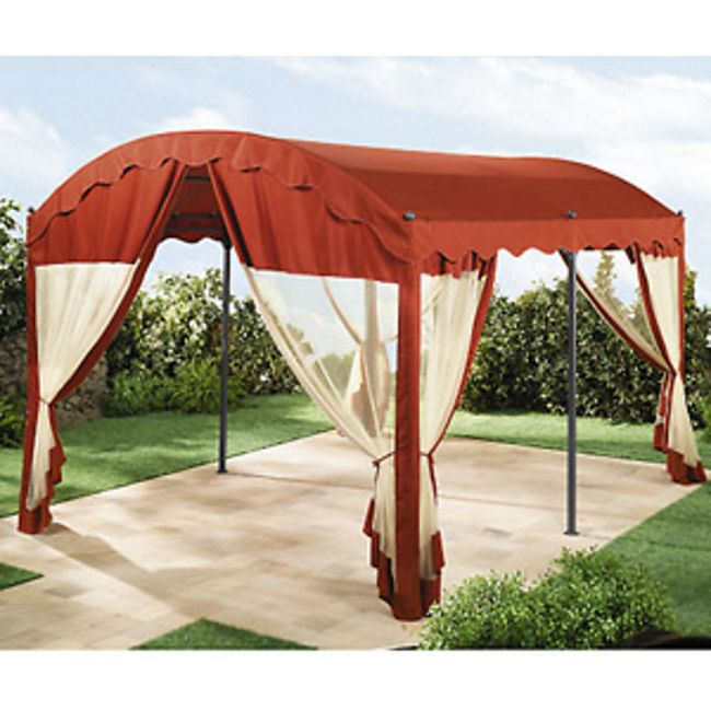 grasekamp 4 seitenteile zu bogenpergola 3x4m terrakotta online kaufen. Black Bedroom Furniture Sets. Home Design Ideas