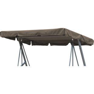 Grasekamp Ersatzdach Universal Hollywoodschaukel  Taupe Ersatz-Bezug Sonnendach Dachplane