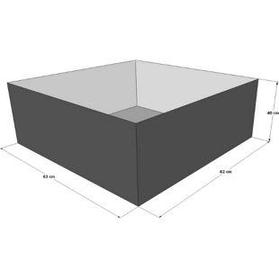 Grasekamp Gartenteich Hochteich Teich Einsatz zu  80x80 cm