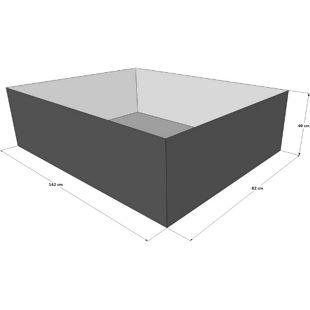 Grasekamp Gartenteich Hochteich Teich Einsatz zu  180x100 cm