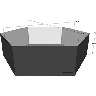 Grasekamp Gartenteich Hochteich Teich Einsatz Ø  130cm