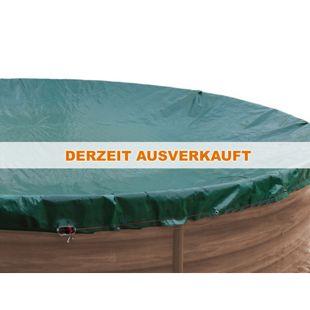 Grasekamp Abdeckplane für Pool rund 420cm  Planenmaß 480cm Sommer Winter