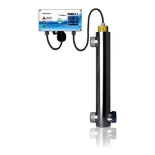 PURE 2.1 - 50W - UVC Anlage zur Wasseraufbereitung - 230VAC/115VAC