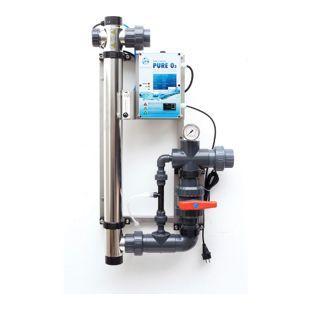 PURE O3 - 120W - UVC + Ozon Anlage zur Wasseraufbereitung - 230VAC