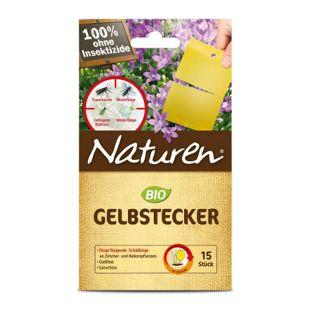 Naturen Bio Gelbstecker - 15 Stück