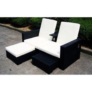 Baidani Rattan  Lounge Sofa Honeymoon