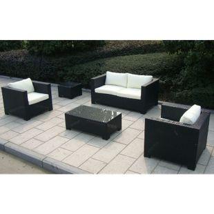 Baidani Rattan Garten Lounge-Set Infinity