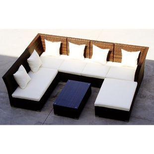 Baidani Rattan Garten Lounge Thunder