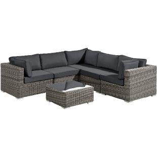 Baidani Rundrattan Garten Lounge Vacation Select