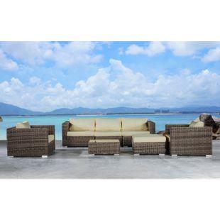 Baidani Rundrattan Garten Lounge Silence Select