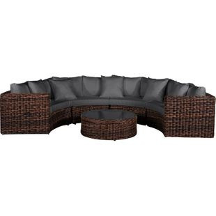Baidani Rundrattan Garten Lounge Inspiration Select