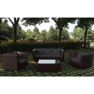 Baidani Rattan Garten Lounge Groovy Select