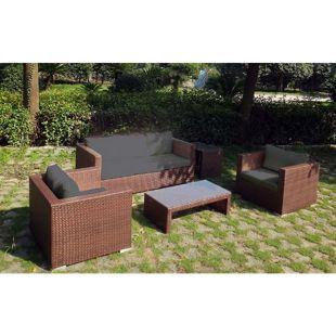 Baidani Rattan Garten Lounge Westside Select