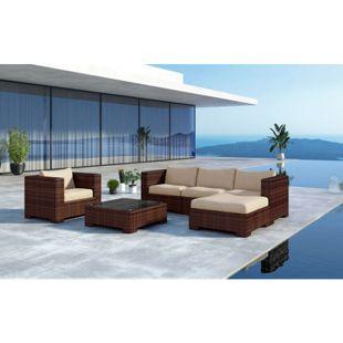 Baidani Rattan Garten Lounge Daydreamer Select