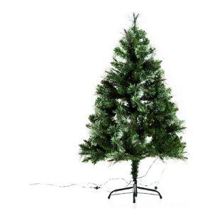 HOMCOM Weihnachtsbaum mit Metallständer grün 80 x 120 cm (ØxH) | Künstlicher Tannenbaum Christbaum Kunststoffbaum