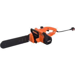 DURHAND Elektrische Kettensäge orange 84 x 27 x 20 cm (LxBxH) | Elektro Kettensäge Motorsäge Sägearbeiten Säge