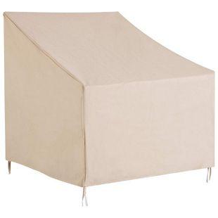 Outsunny Schutzhülle für Stühle beige 68 x 87 x 77 cm (LxBxH) | Abdeckung Gartenmöbel Abdeckhaube Stuhlabdeckung