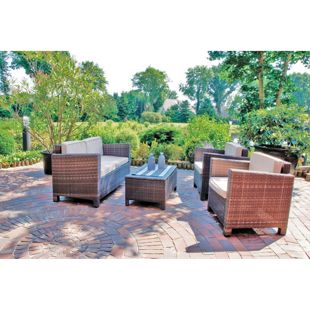 Garden Pleasure Lounge-Gruppe Rom, 4-tlg.
