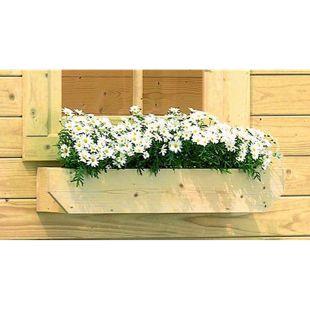 Karibu Blumenkasten für Gartenhäuser