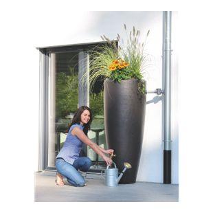 Garantia Wasserbehälter 2in1 mit Pflanzschale 300 L mocca