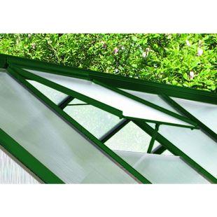 Vitavia Alu-Dachfenster für Calypso, ohne Glas, grün
