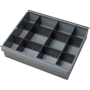 Schubladen-Einteilungsset für Rau Rollwerkbank - Höhe 65 mm