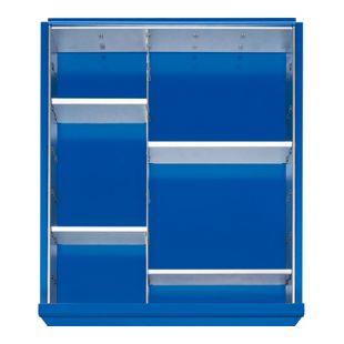 Einteilungs-Set für alle Rau Werkbank-Schubladen  - für Schubladenhöhe 120 mm und 150 mm