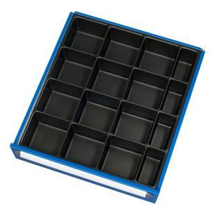 Einteilungs-Set für Rau Werkbank-Schubladen für Schubladen 120+ mm