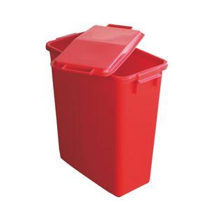 Mehrzweckbehälter 60 L rechteckig rot
