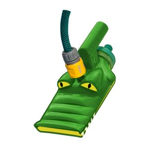 Summer Fun Croco Vac - Venturisauger Set