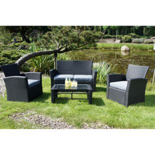 Garden Pleasure Loungeset Oxford 4-tlg.
