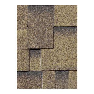 Karibu Dachschindeln Asymmetrisch 3 m², Farbe zedernholz