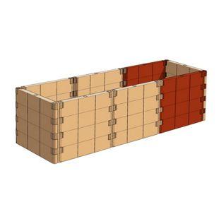 Juwel Profiline Erweiterungs-Set terracotta