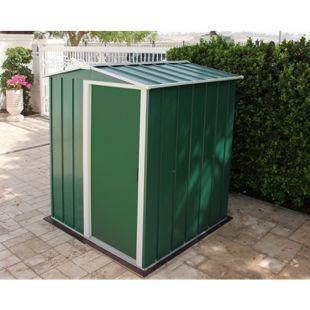 Tepro Metallgerätehaus Eco 5x4 grün