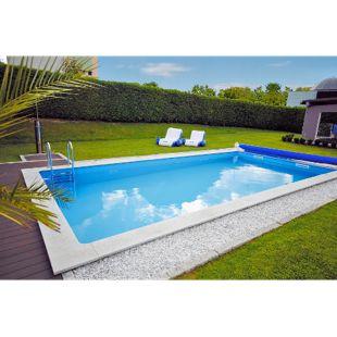 KWAD Beckenset Pool STD 6,0x3,0x1,5m inkl. Leiter