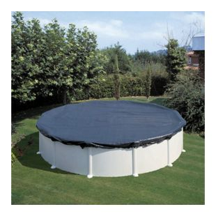 KWAD Sommerabdeckplane Pool Oval 5,5 x 3,6 m