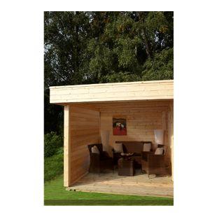 Wolff Finnhaus Zusatzpaket Wand für Gartenhaus Maja