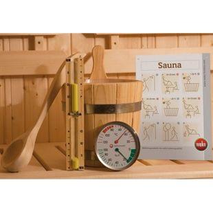 Weka Premium Sauna-Zubehör-Set 5-teilig