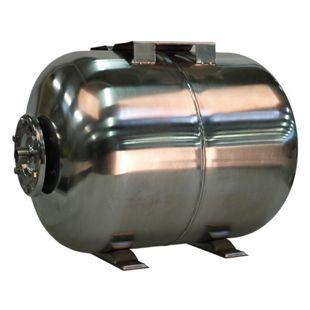 """T.I.P. Druckkessel Edelstahl 50 Liter komplett 33,25 mm (1"""" AG)"""