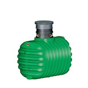 Garantia Cristall Komplettpaket Garten Comfort 1600 L befahrbar grün